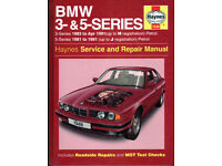 HAYNES BMW 3 & 5 SERIES PETROL MODELS 1981 - 1991