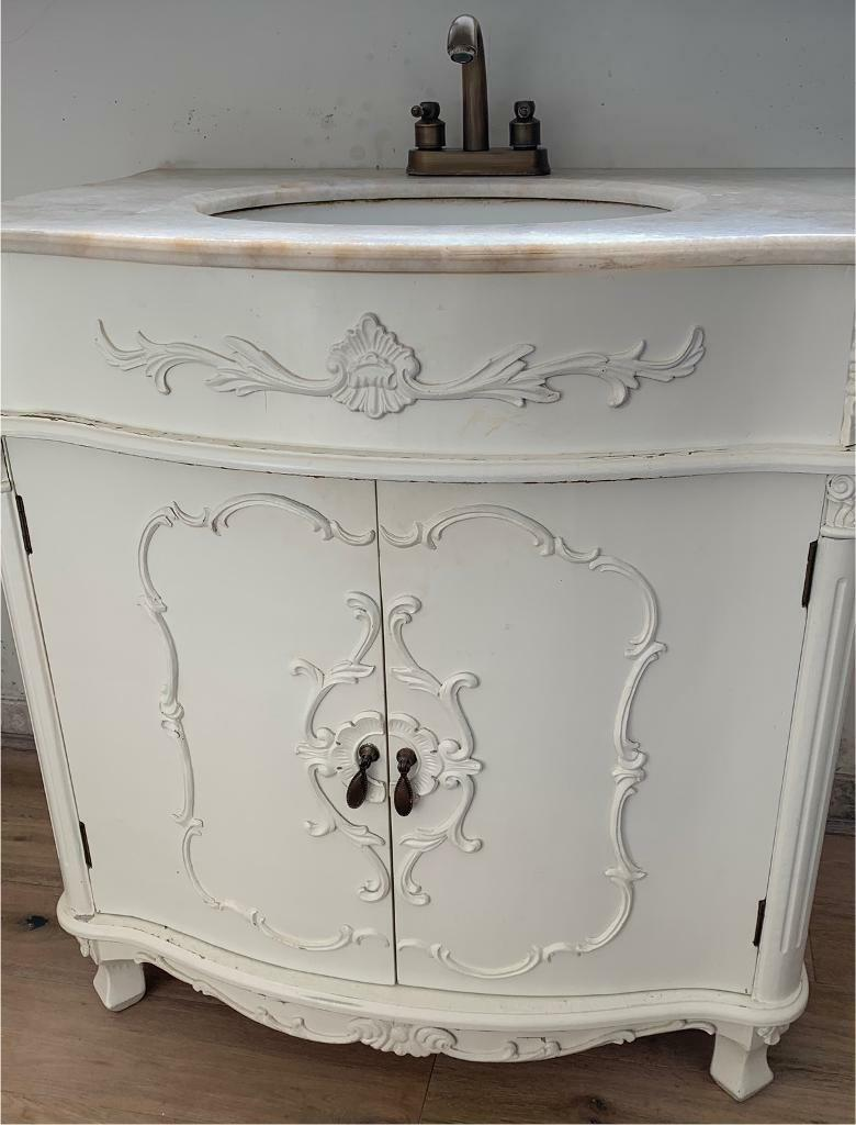 Swell French Vanity Unit Bathroom Sink Marble Shabby Chic In Sunderland Tyne And Wear Gumtree Download Free Architecture Designs Terchretrmadebymaigaardcom