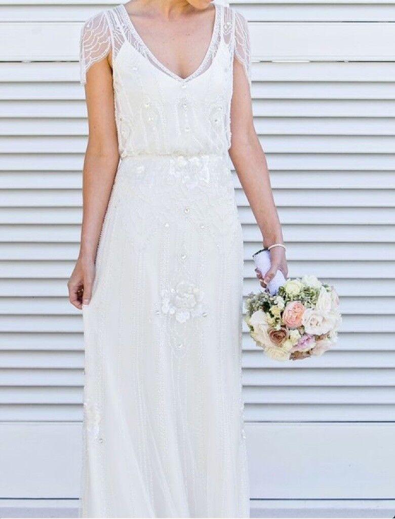 Jenny Packham Eden Ivory Wedding Dress UK 12 | in East London ...