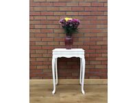 Vintage hand-painted desk/table