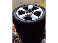 "BMW 17"" Alloy Wheels 225/50/17"