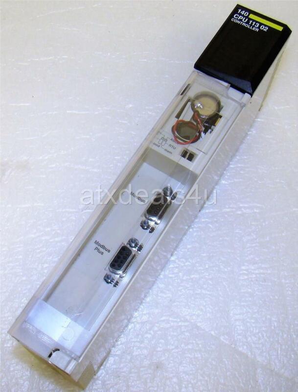Schneider Electric 140CPU11302 140 CPU 113 02 TSX Quantum Processor Controller