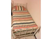 Girls single bed and mattress from Next, excellent condition.