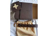 Louis Vuitton Belt Ellipse 30mm