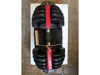 dumbbell adjustable 24kg