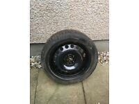 17 inch spare wheel for Vauxhall Astra