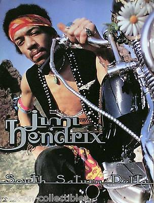 Jimi Hendrix 1997 South Saturn Delta Original Promo Poster