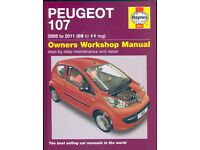 Peugeot 107 Owners Workshop Manual 2005-2011