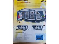 Dorema Multi Nova Excellent full awning - size 16 for sale.