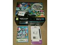 Boxed Black Wii U 64gb with 2 games