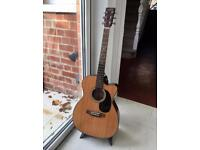 Electro-acoustic Sigma guitar (great condition)