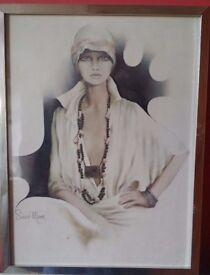 Vintage Sarah Moon Print - Lisa
