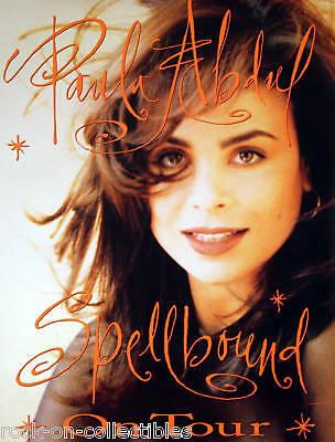 PAULA ABDUL 1991 SPELLBOUND TOUR POSTER ORIGINAL