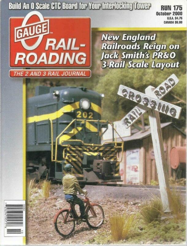 O Gauge Railroading October 2000 Harvesting Cherries & Ballast Hopper Train