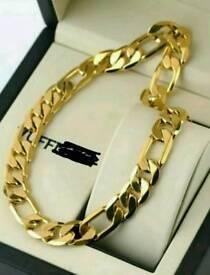18k gold filled necklace
