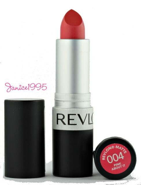 REVLON Matte Lipstick #004 PINK ABOUT IT
