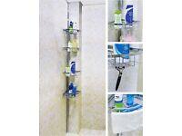 4 Tier Adjustable Bathroom Shower Caddy