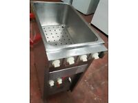 CAFE BISTRO TAKEAWAY PASTA BOILER ELECTRIC VALENTINE 3 PHASE FREE STANDING PASTA COOKER VMC 3