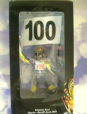 Minichamps 1/12 Valentino Rossi Figure Motogp Assen 2009 100 Gp Wins 2699 Only