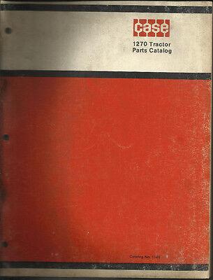 Case 1270 Tractor Parts Catalog