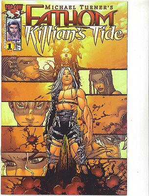 Fathom  killian's tide #1 vfn/nm 2001 regular cover Michael Turner Image Comics