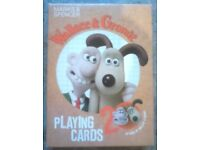Pack Of 'Wallace & Gromit' Picture Playing Cards (2009)