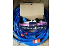 Aquaroll Mains Adapter with waterhose