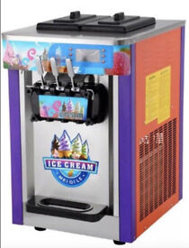 ICE CREAM WHIPPY MACHINE - TRIPLE HEAD - MONEY MAKER - BRAND NEW - SHIPPING AVAILABLE