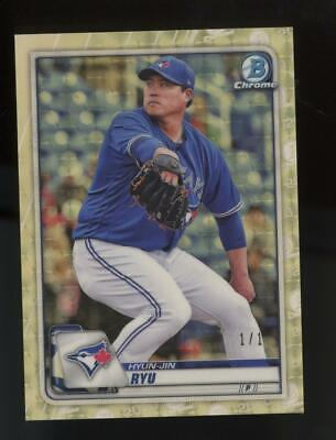 2021 Bowman Chrome Superfractor Hyun Jin Ryu 1/1 One of One
