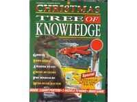 Vintage 1991 Tree of Knowledge Christmas Edition facts Books/book – post or collect