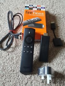 Amazon Firestick 2nd gen with Alexa voice remote