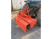 Rotovator 3-point linkage tractor / compact tractor