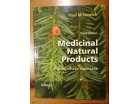 Book For Sale: Medicinal Natural Products: A Biosynthetic Approach Third soft Paul M. Dewick