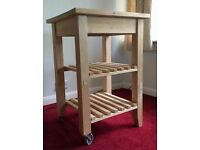 (USED) IKEA BEKVAM Kitchen Trolley in Rutherglen