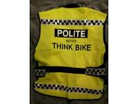 high visibility motorcycle vest