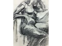 Life Drawing Classes. Bournville. Birmingham.