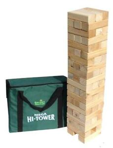 NEW Mega Hi-Tower - Extra Tall Tumble Tower Up to 6ft During Play (Includes Carry Bag)