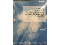 Microsoft Official Course 2778A Writing Queries Using Microsoft SQL Server 2008 Trans-act-SQL