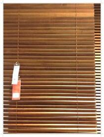 3 x 80cm wide Ikea Lindmon Blinds Natural