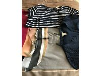 Selection of maternity clothes (14-16) package