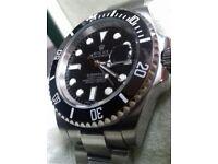 *PREMIUM* Brand New 153g Rolex Submariner with engraved rehault and ceramic bezel