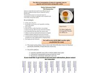 Nutrition research study : Older Adults over 65 needed!