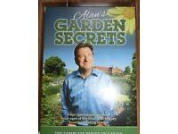 Alan Titchmarsh - Alan's Garden Secrets (DVD, 2012, 4-Disc Set)