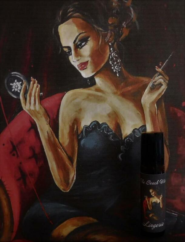 LINGERIE Potion Roll-on Fragrance Oil Ritual Oil Perfume Oil Wicca Witchcraft