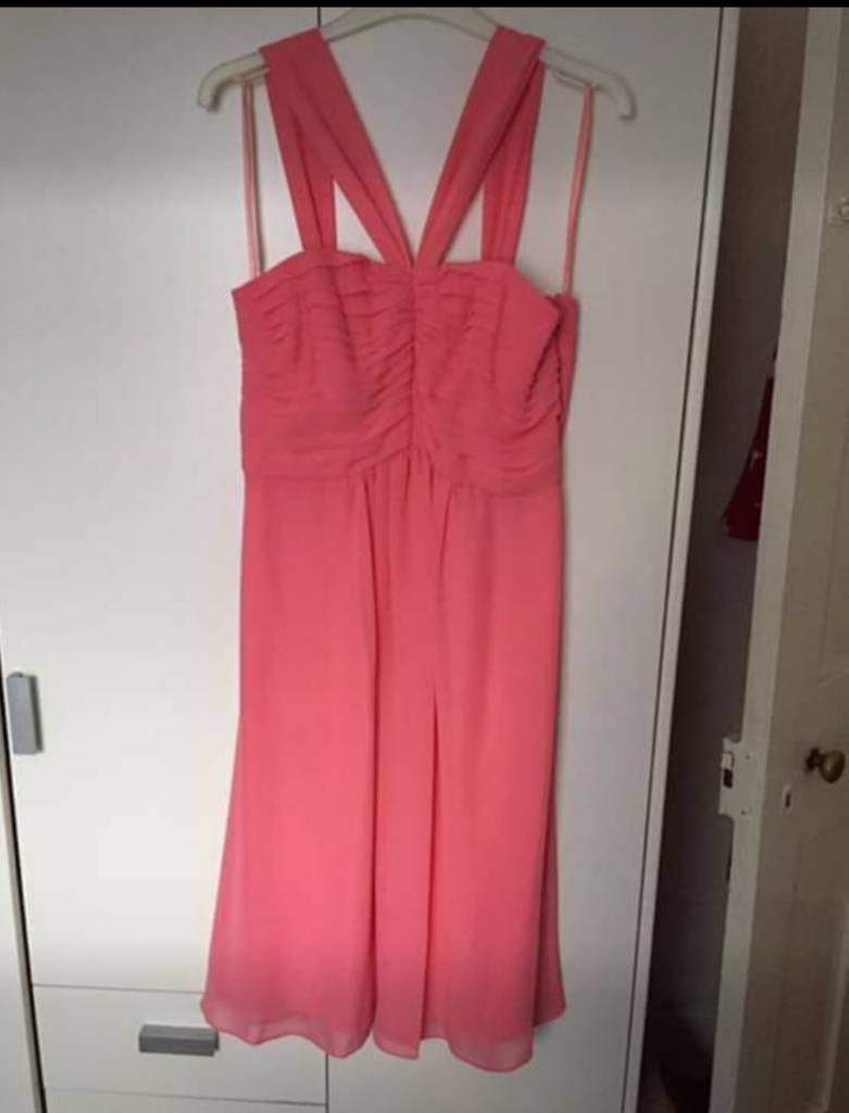 Debenhams Debut Pink Dress