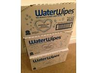 Boxes of waterwipes