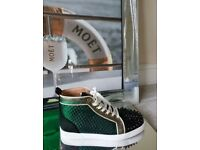 Christian Louboutin High Top Spike Trainers - Genuine Gucci D&G Louis Vuitton Balenciaga