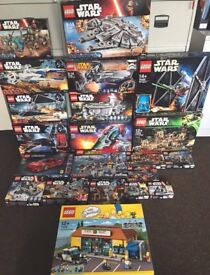 Brand new in boxes Lego collection - all sealed