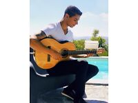 Solo spanish guitarist for gigs in restaurants, pubs, bars, hotels, private parties.