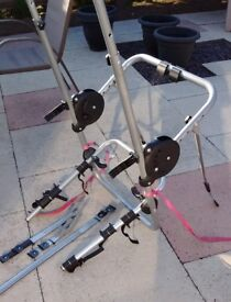 Halfords Clamp High 3 Cycle/Bike Carrier including false crossbars